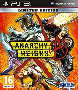 ANARCHY REIGN LIMITED EDITION PS3