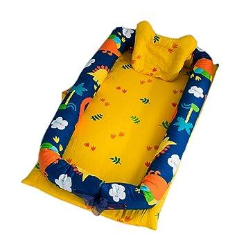 Wangjie Set de Ropa de Cama Nido para Bebé Reductor ...