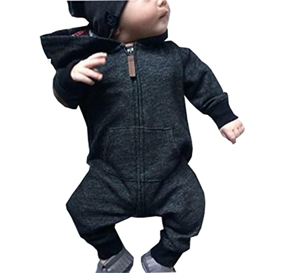 Aliven Toddler Infant Baby Girl Boy Long Sleeve Deer Romper Jumpsuit Pajamas  Xmas Outfit 41f6a2e6e