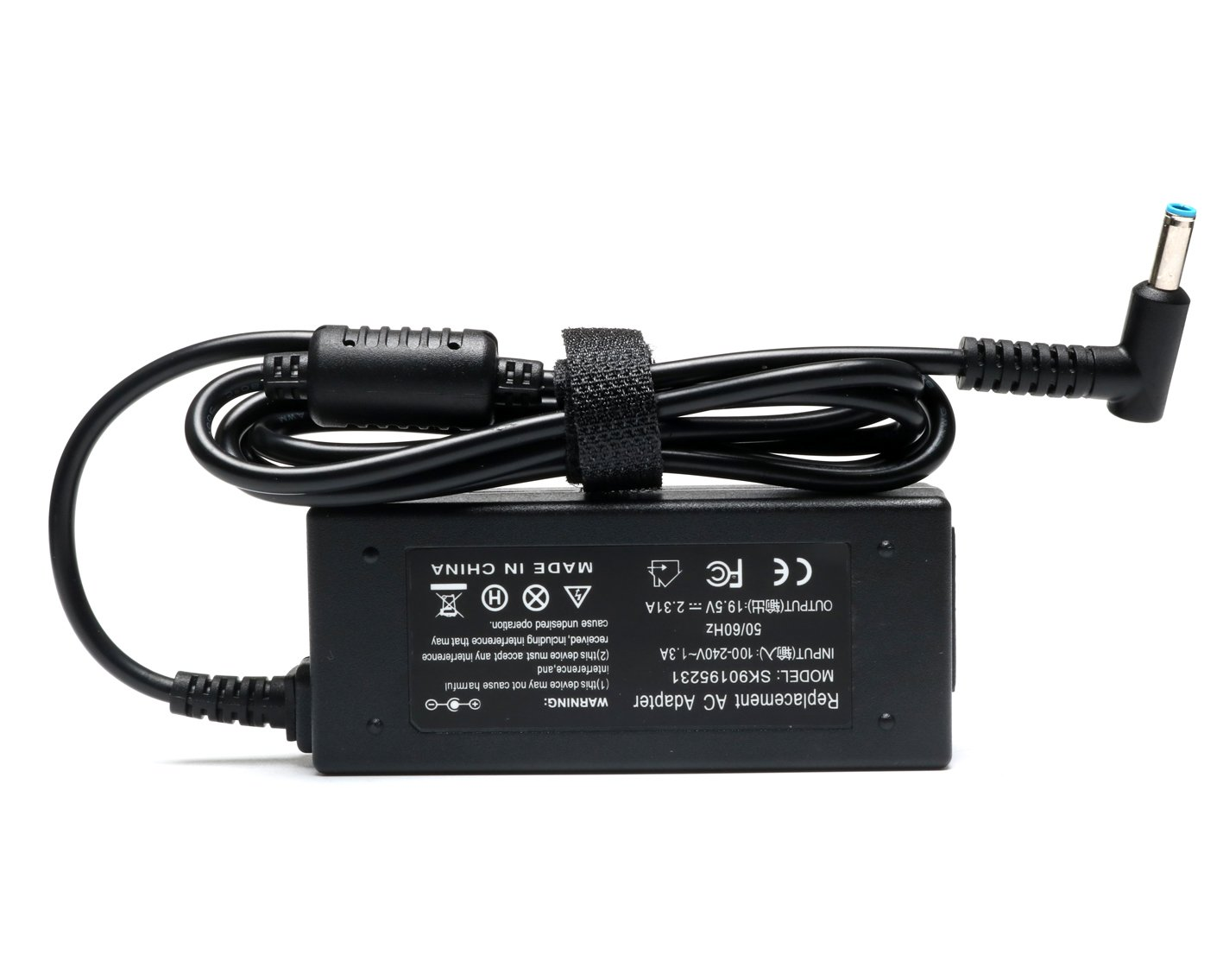 19V 2.31A 45W Ac Adapter/Power Cord Supply for Hp Stream 11 13 14; Hp Pavilion X2 11 13 15; P/N: 719309-001 719309-003 721092-001 741727-001 740015-001 HSTNN-CA40 ADP-45WD B by ROLADA (Image #2)