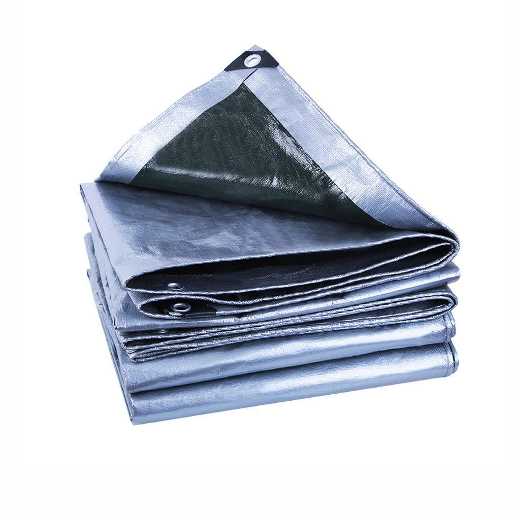 BEAUTY brand Verdickung Regendichte Tuch Tarps Kunststofftuch Regen Tarps Shade Sonnencreme Tuch Autoplanen (Farbe   4X6M)