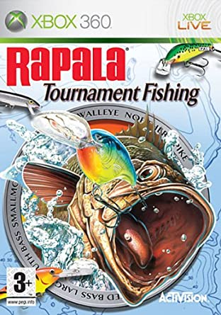 Rapala Tournament Fishing Xbox 360 Amazon Co Uk Pc Video Games