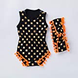 WOCACHI Toddler Baby Girls Clothes, Baby Sleeveless