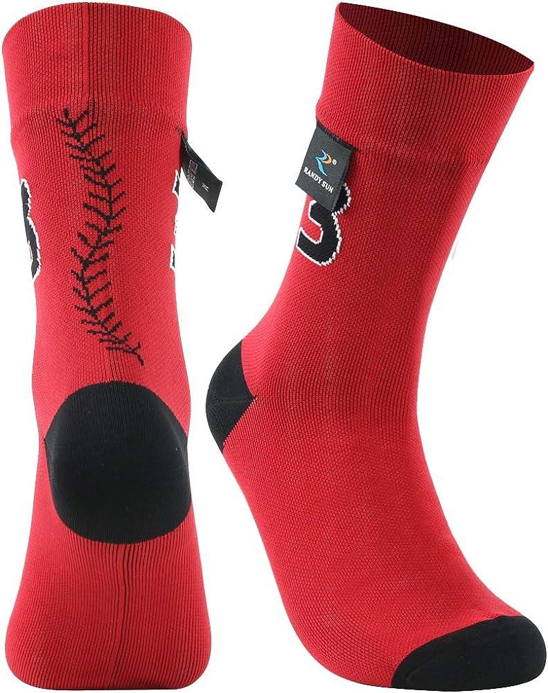 100/% Waterproof Hiking Socks, RANDY SUN Unisex Ventilated Breathable Skiing Trekking Sock SGS Certified