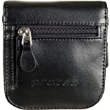 Trumpet 2-Piece Leather Mouthpiece Pouch with Zipper Closure