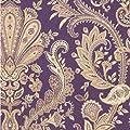MD29427 - Silk Impressions Damask Beige, Cream, Lilac, Purple Galerie Wallpaper