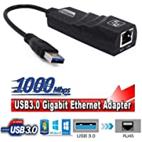 Alfais 4939 USB 3.0 to Ethernet Çevirici Dönüştürücü Adaptör (Gigabit Destekli)