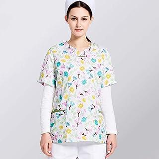 QZHE Abbigliamento medico Abbigliamento Medico della Clinica Dentaria del Salone di Bellezza dell'Abbigliamento di Cura Medica Uniforme del Vestito Medico Dell'Ospedale
