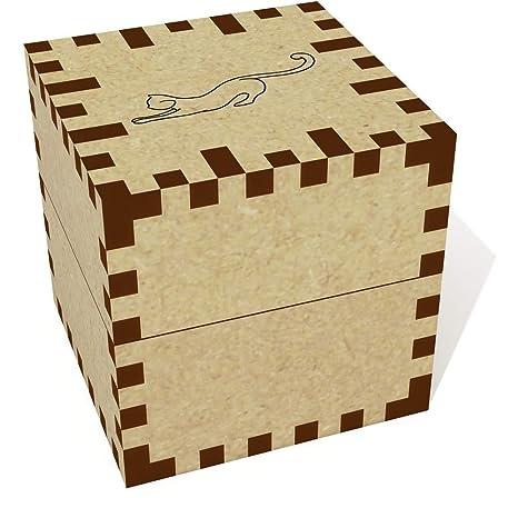 Azeeda Pequeña (39mm) Estiramiento del Gato Joyería Caja (JB00050047)