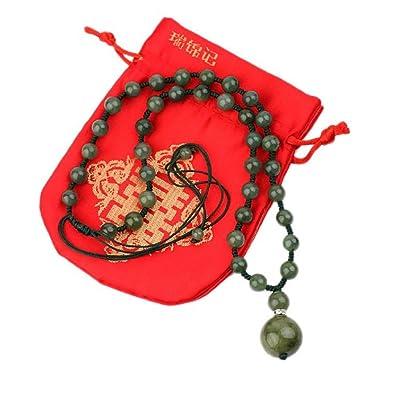 COLLIER en JADE - Modèle Harmonie - Tradition du Jade - Pochette en Satin  offerte c260ac881aec