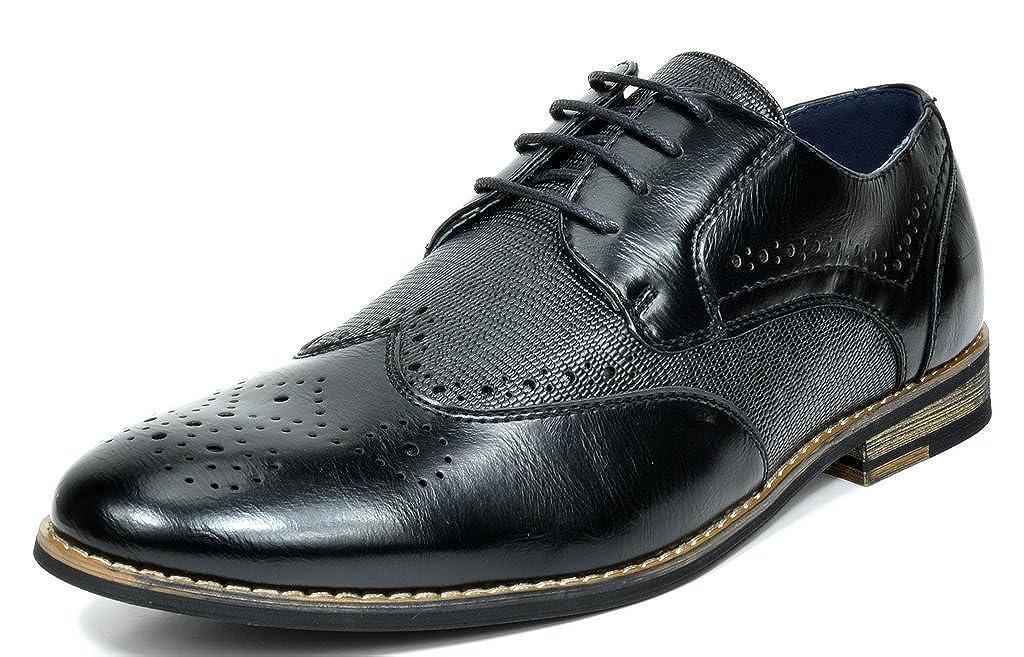 fdf01af3c7de Top1: Bruno Marc Men's Florence-1 Leather Lined Dress Oxfords Shoes