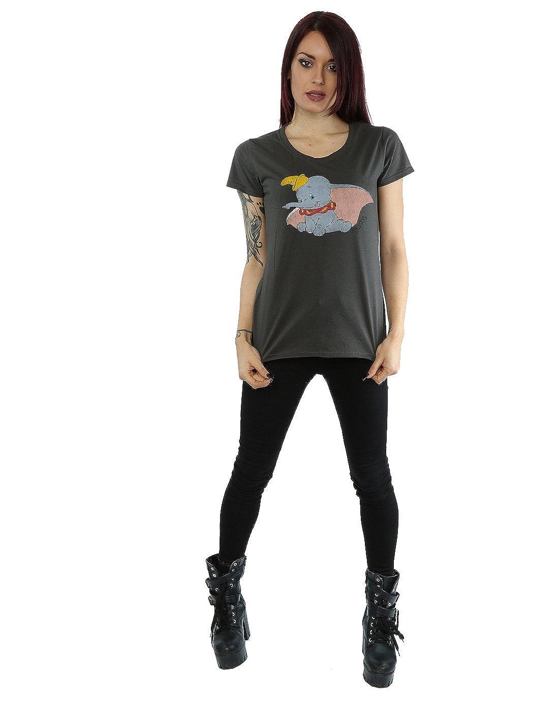 Disney mujer Classic Dumbo Camiseta