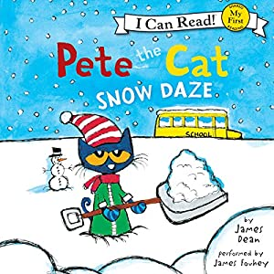 Pete the Cat: Snow Daze Audiobook