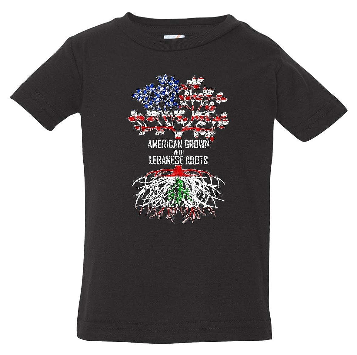 Tenacitee Babys American Grown with Lebanese Roots Shirt