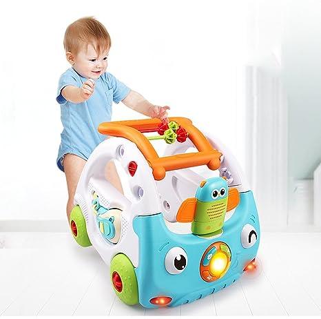 Carro de juguete para bebé y niño pequeño, ajustable, con ruedas ...
