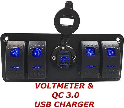 Amazon.com: Cargador de encendedor dual USB de 4,8 amperios ...
