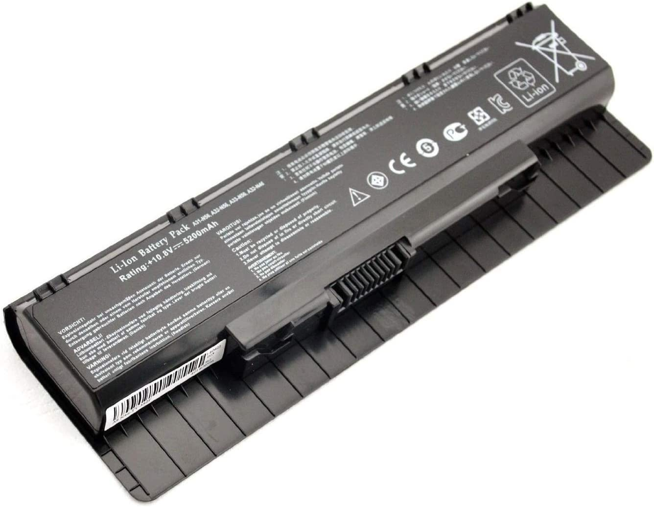 SOLICE New A31-N56 A32-N56 A33-N56 Laptop Battery for Asus A32-N56 N56 N56V N56J N56VZ N56D N56DP N56J Series [10.8V 56Wh/5200mAh]