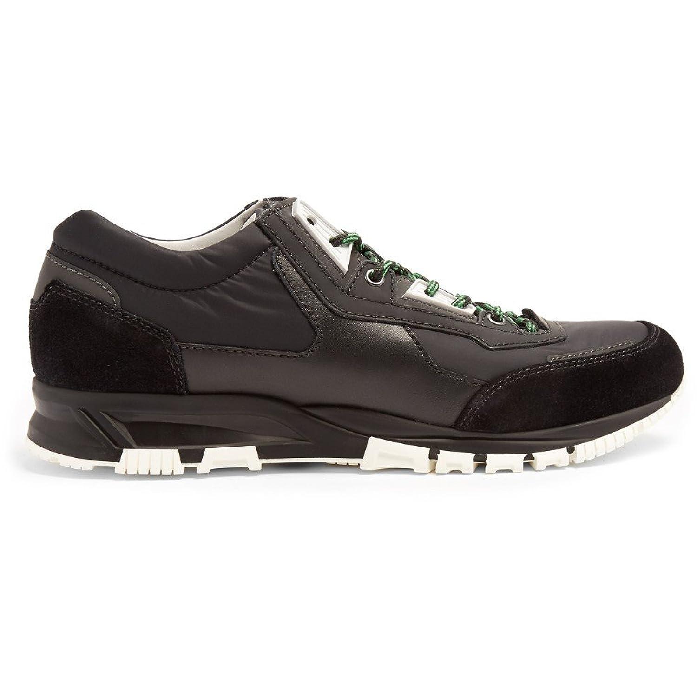 (ランバン) Lanvin メンズ シューズ靴 スニーカー Contrast-panelled low-top trainers 並行輸入品 B074SKWSGD