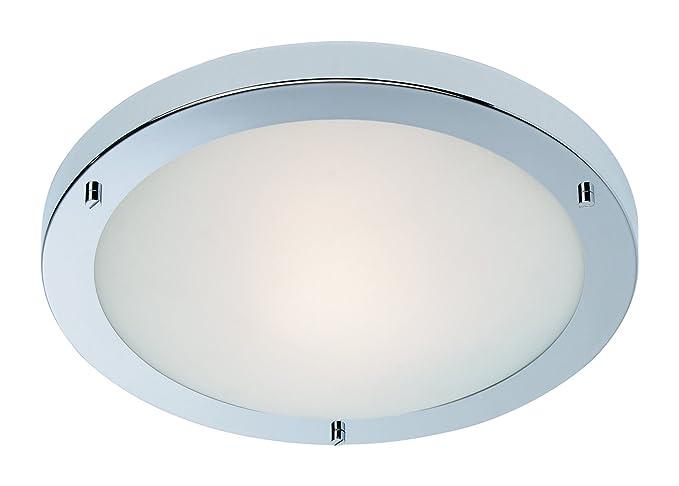 Plafoniere Con Lampade A Risparmio Energetico : Firstlight gr q ip plafoniera a risparmio energetico rondo
