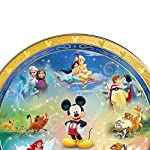 Disney Characters Magic Moments Heirloom Porcelain Collector Plate With Custom-Designed Presentation Case by The Bradford Exchange