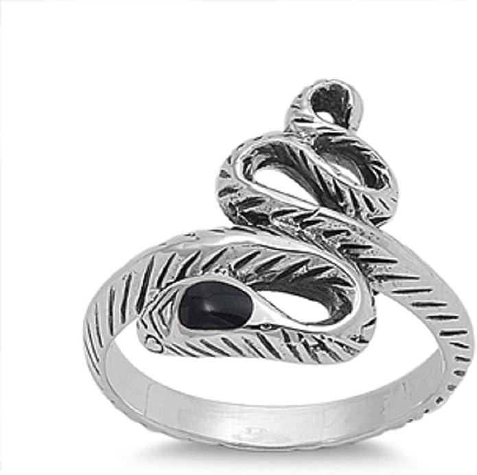 Princess Kylie 925 Sterling Silver Three Patterns V Shape Ring