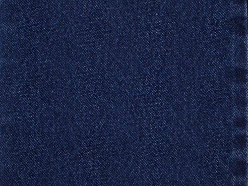 Imperial Denim - Kaltex America 1375-00-00-89-01 Cotton Denim Fabric, Indigo Blue