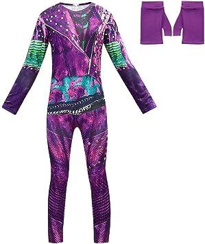 Kids Boys Descendants 3 Carlos Costume Jumpsuit Outfits Halloween Fancy Dress UK