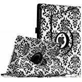 Fintie Apple iPad Air Case - 360 Degree Rotating Stand Case Cover with Auto Sleep / Wake Feature for iPad Air / iPad 5 (5th Generation) - Versailles
