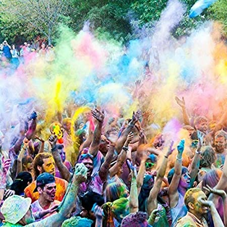 Perfect For Fun Runs Color Wars and More Color Powder Pink 25lbs Holi Festivals