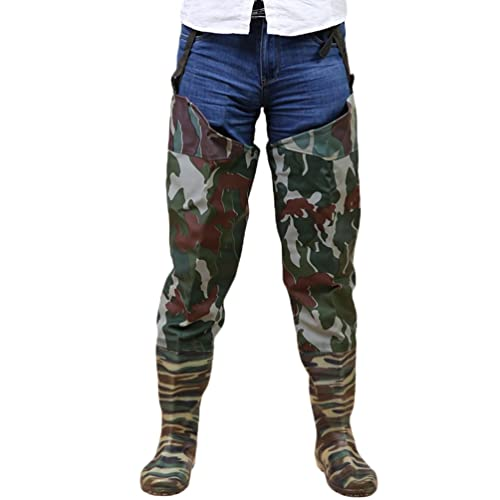ef2a05f064e Yuandian mens womens outdoor camouflage hip wader boots knitted jpg 500x500  Farmers wearing hip waders