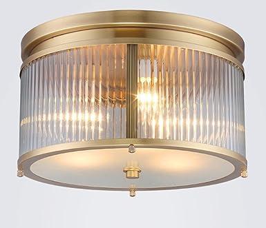 HJHY® Deckenleuchten, Amerikanische Einfachheit Kupferkunst Deckenleuchten  Wohnzimmerleuchten Amerikanischer Stil Schlafzimmer Restaurant Einfache  Moderne ...
