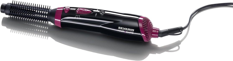 Severin 0806 - Cepillo moldeador eléctrico (400 W, doble voltaje), color negro/morado
