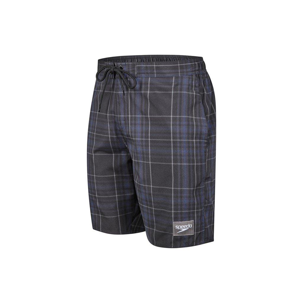 TALLA XL. Speedo YD Check - Pantalones Cortos causales para el Agua (bañador), Hombre, YD Check Leisure, Black/Oxid Grey/Navy, XL