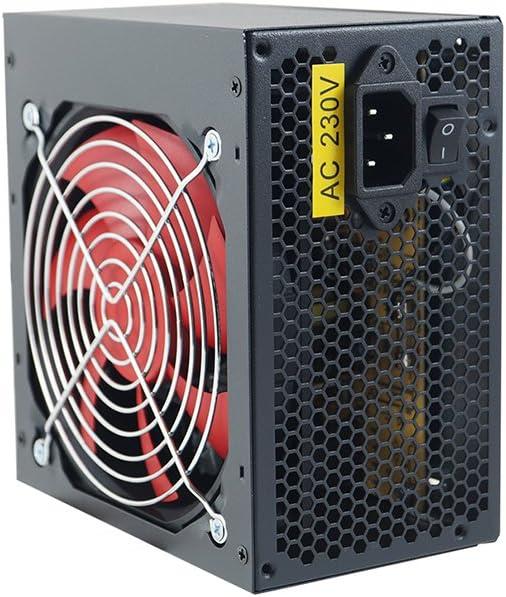 Fuente de alimentación para ordenador con ventilador, fuente de ...