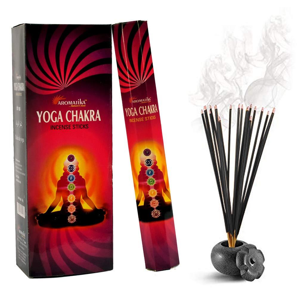 aromatika Yoga Chakra Perfume Incense Sticks ( Hexa ) B07648WBVP
