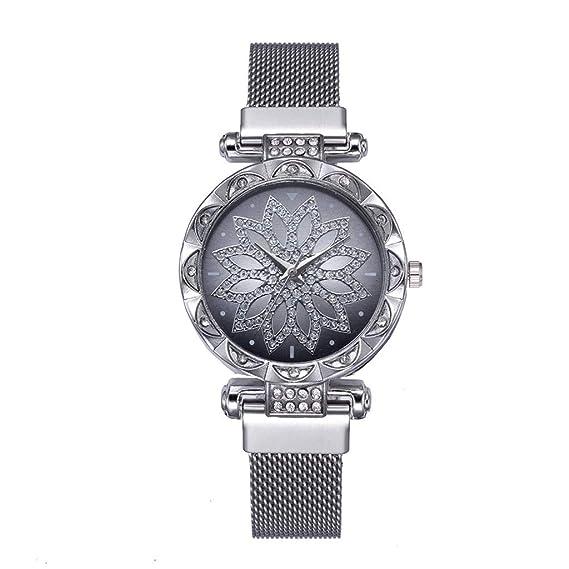 Sunnywill Relojes Mujer Elegante Relojes para Mujer Retro Moda ...