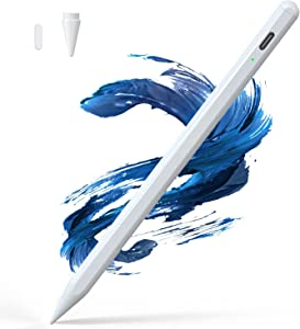 Elecife Stylus Pen for iPad with Palm Rejection, Active Pencil Compatible with (2018-2021) Apple M1 iPad Pro (11/12.9 Inch), iPad 6th/7th/8th Gen, iPad Air 3rd 4th Gen, iPad Mini 5th Gen