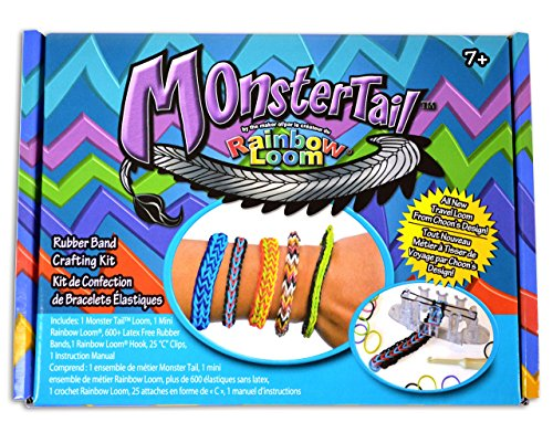 Monster Tail Mini Loom Bracelet (Rainbow Loom C Clips Only compare prices)