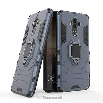 Cocomii Black Panther Armor Huawei Mate 9 Funda [Robusto] Táctico Anillo Metálico Sujeción Soporte [Funciona con El Montaje De Coche Magnético] Case ...