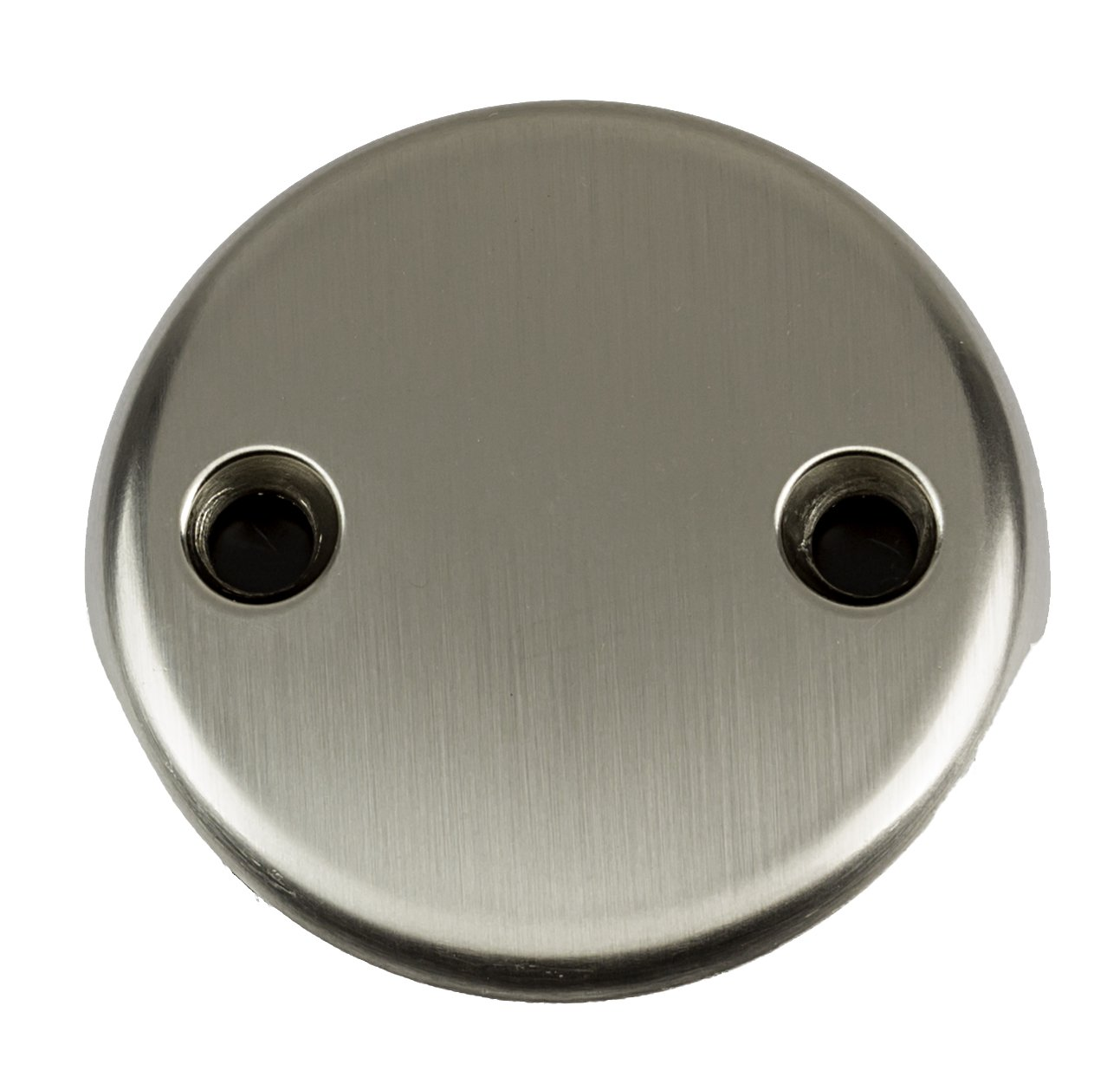 2-Hole Overflow Face Plate with Screws- PVD Stainless Steel