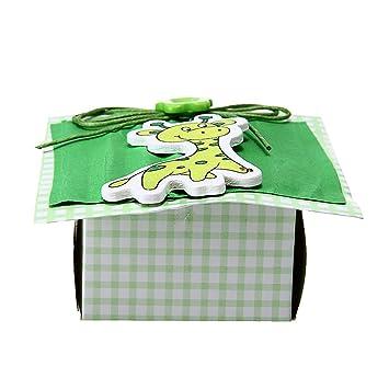 12 x Cajas Cajitas para Bombones Caramelo Color Verde Boda ...