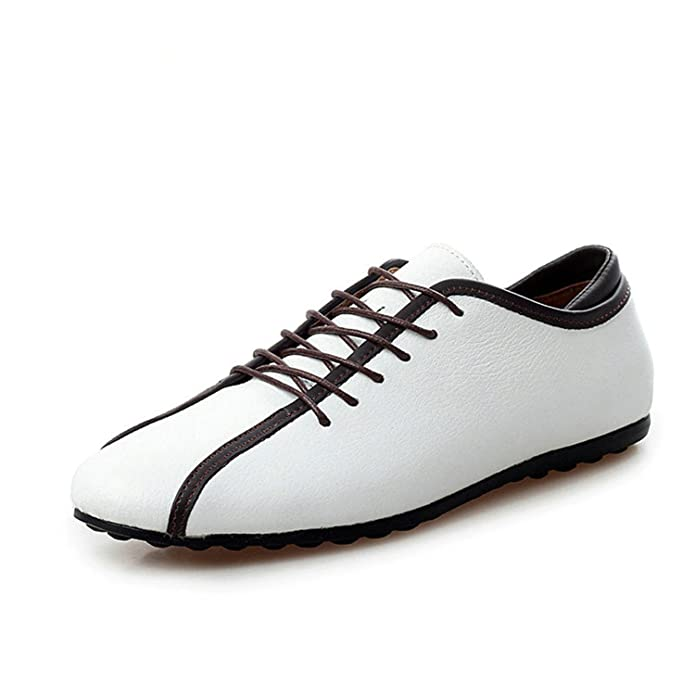 Amazon.com   Marcel Yiaminso Nubuck Leather Men Shoes Spring Male Casual Shoes New New Fashion Leather Shoes Loafers MenS Shoes Flats Zapatillas   Shoes