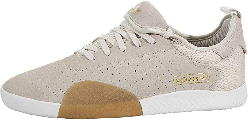 adidas 3ST.003 (Clear Brown/Cloud White/Gum) Men's Skate Shoes