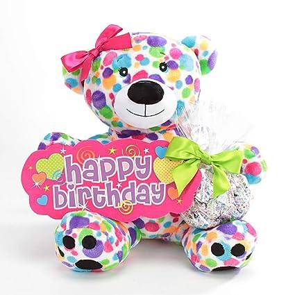 Feliz cumpleaños oso de peluche Candy Rainbow – de regalo ...