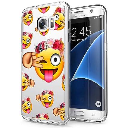 Amazon.com: Carcasa de silicona para Samsung Galaxy S7 ...