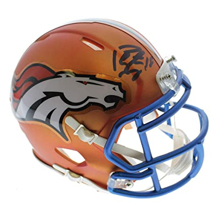 Image Unavailable. Image not available for. Color  Peyton Manning Denver  Broncos Autographed Signed ... c266e1fa5