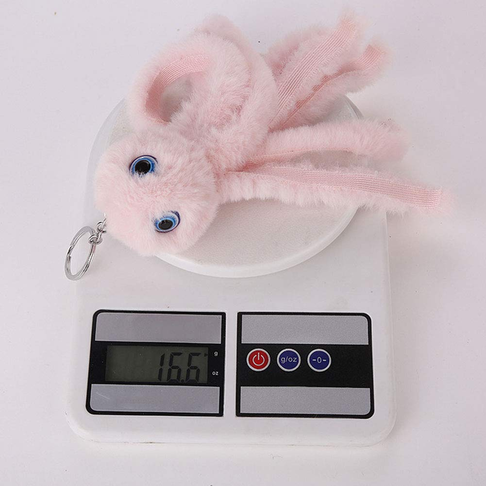 Plush Toys Keychain Cute Octopus Plush Keychain Mini Plush Animal Toy Stuffed Animal Handbag Pendant for Boys Girls Sky Blue