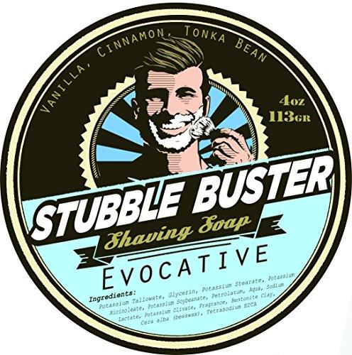Stubble Buster - Evocative - Handmade Shaving Soap