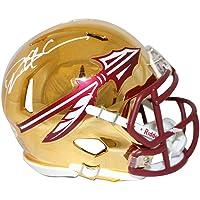 $217 » Deion Sanders Signed Florida State Seminoles Chrome Mini Helmet BAS 28229 - Autographed College Mini Helmets