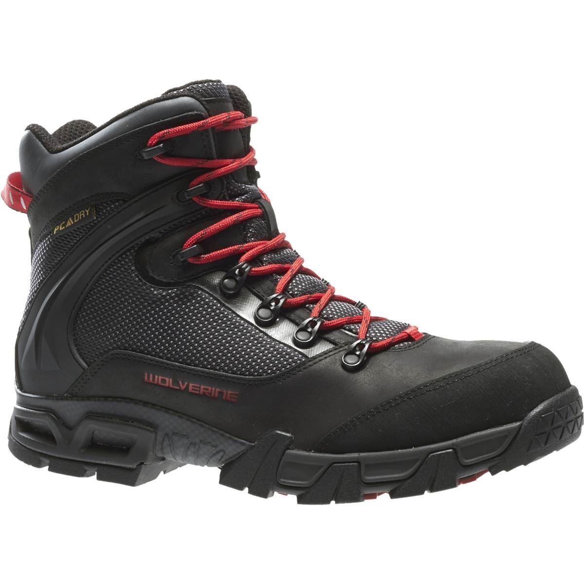 Wolverine Mens Cannon WPF Comp Toe Hiker Real Work Boot